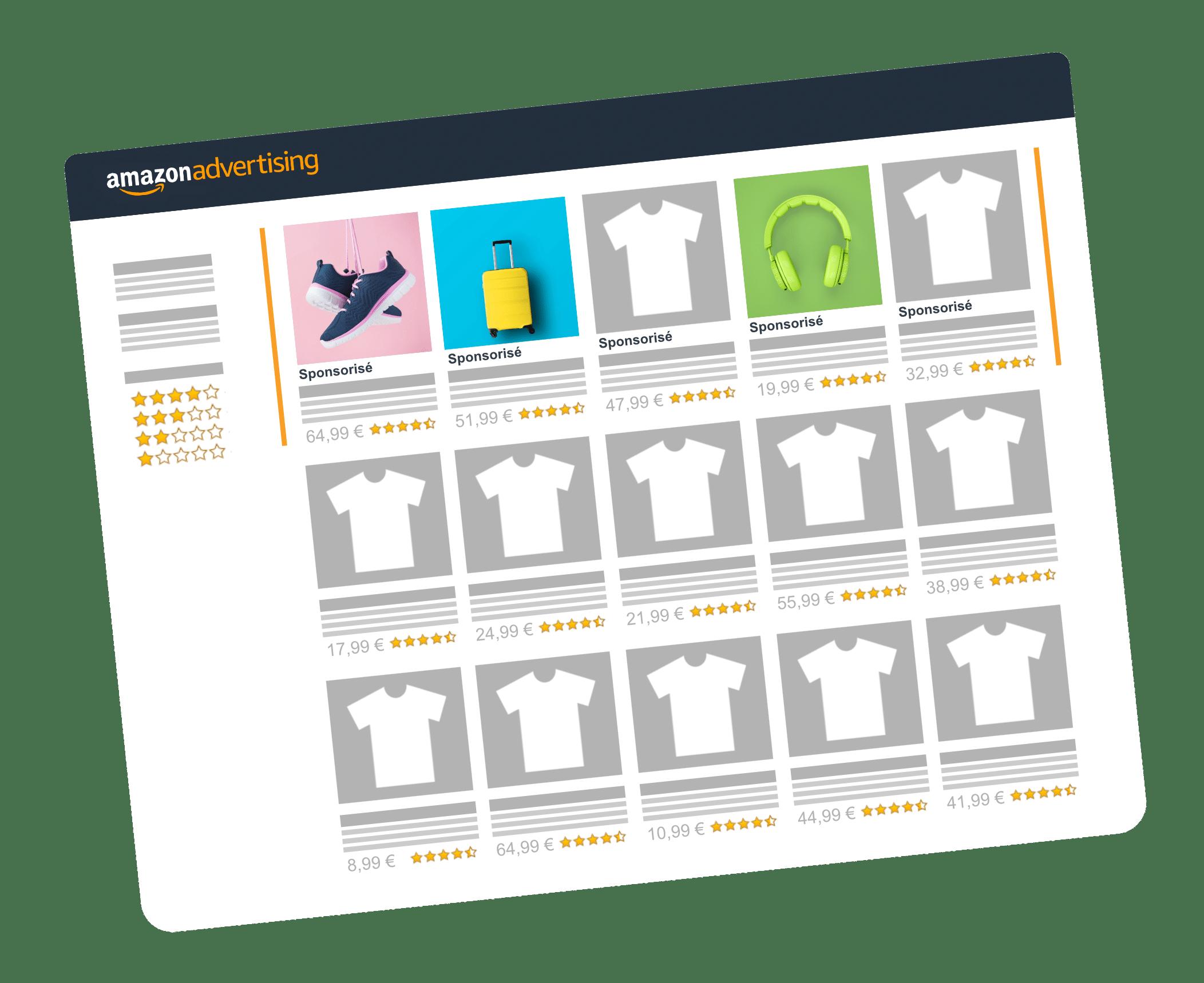 Résultats Amazon Advertising